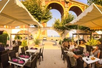 Bar restaurant du Camping Azur Rivage