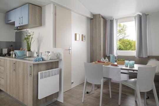 Intérieur mobile home Mercure Riviera